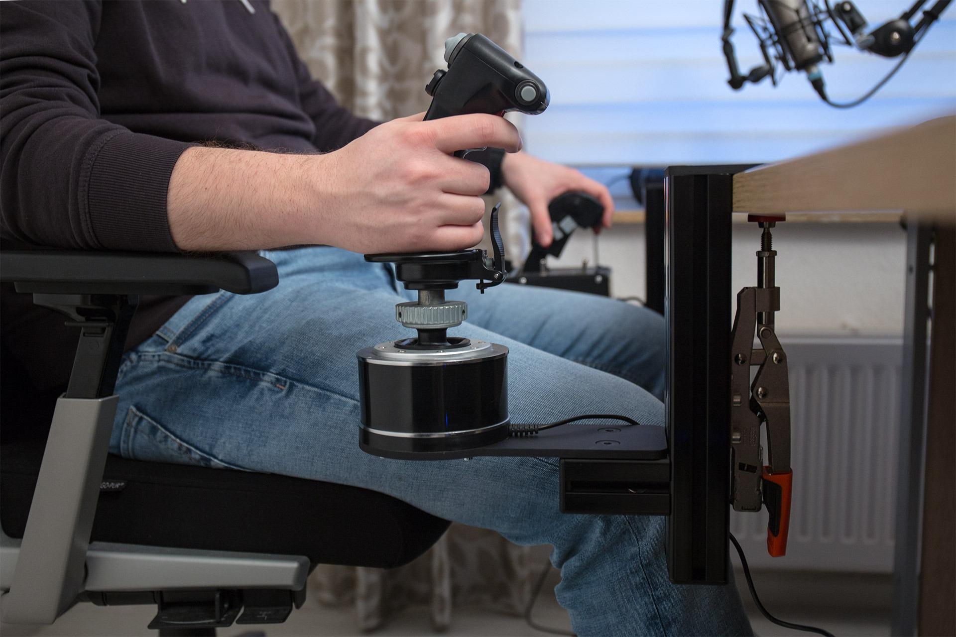 Hotas Joystick Table Mount Monster Tech